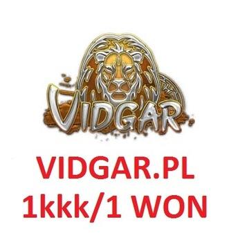 Metin2 Vidgar.pl YANG 1kkk 1 WON OD RĘKI Vidgar