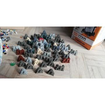 Lego, 14.7 kg, 56 skał, zamek, piraci, Star Wars