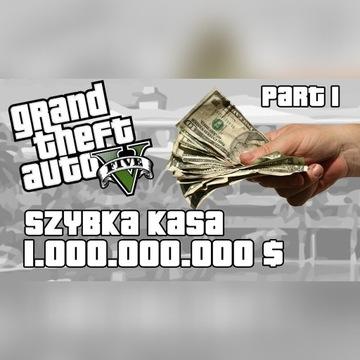 500 MLN $ ORAZ 500LVL GTA 5 ONLINE PC