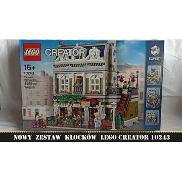 LEGO Creator Expert 10243 Paryska restauracja NOWE
