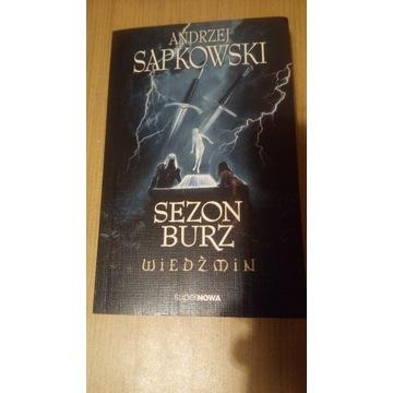 Andrzej Sapkowski - Wiedźmin Sezon Burz