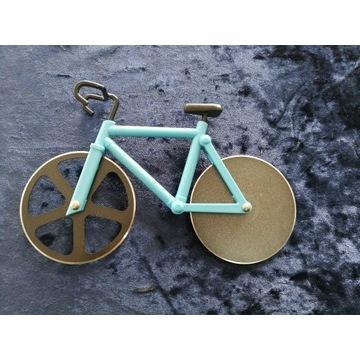 rower nóż do krojenia pizzy NIEBIESKI