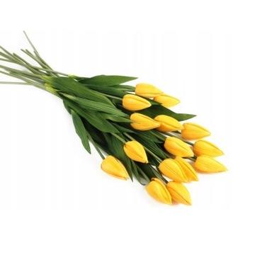 Tulipany żółte lub białe 25 szt/ 20 zł