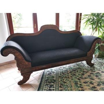 Sofa antyk XIX w. Biedemeier