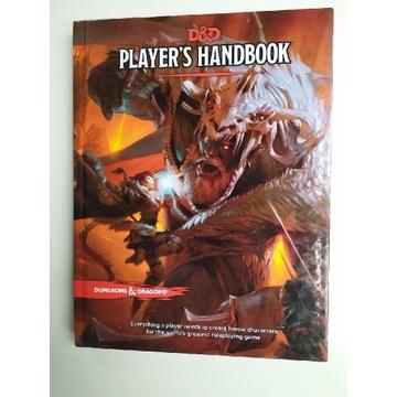 Podręcznik gracza D&D Dungeons and dragons 5.0