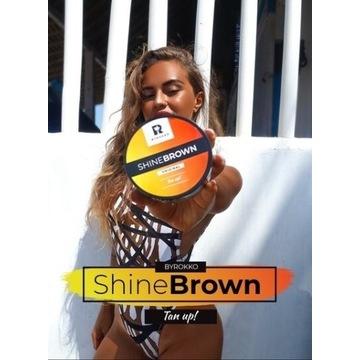 Shine brown _ Przyspieszający _ Solarium