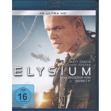 ELIZJUM - ELYSIUM Matt Damon, 2D napisy PL