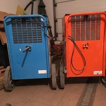 Przemysłowy Osuszacz powietrza Wilgoci EBac
