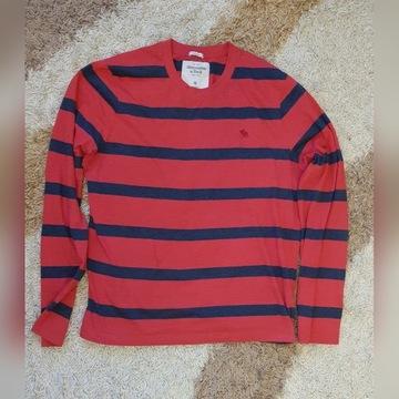 Koszulka z długim rękawem Abercrombie L/XL