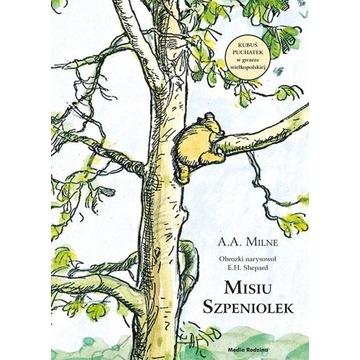 Misiu Szpeniolek z autografem tłumacza