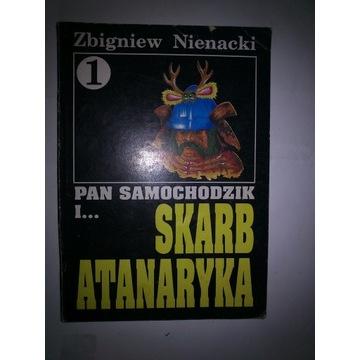 Książka Pan Samochodzik Skarb Atanaryka
