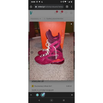 Nike Air Max wysokie buty box/trening