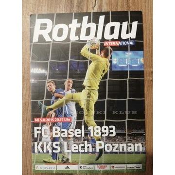 Program FC Basel - Lech Poznań 2015