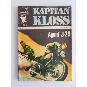 Kapitan Kloss Agent J-23 wydanie drugie