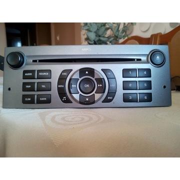 Radioodtwarzacz RD4 Peugeot 407