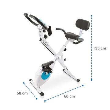 Rower Rowerek Treningowy Stacjonarny Paskowy