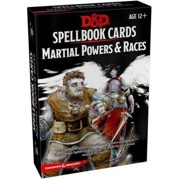 D&D Martial Powers &Races DnD Spellbook Cards