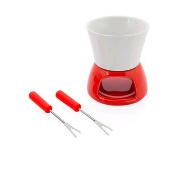 Ceramiczny zestaw do fondue dla 2 osób
