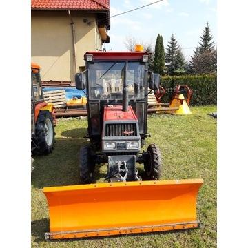 Traktorek komunalny, Kubota,  pług  ,rozsiewacz