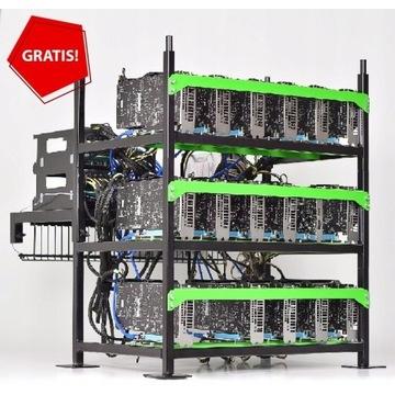 Koparka Kryptowalut -2x RX 6800 XT BTC RVN +GRATIS