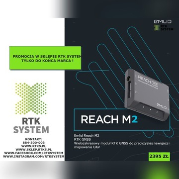 EMLID REACH M2 - rtk system gnss