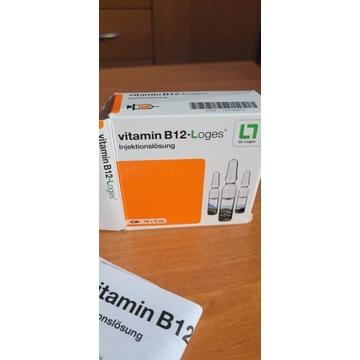 Witamina b12  iniekcja domiesniowo 10 amp po 2ml