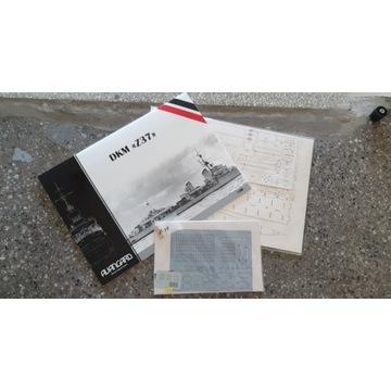 AVANGARD - Z-37 + szkielet + detale laser + lufy