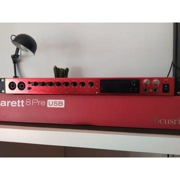 Focusrite Clarett 8 Pre - interfejs audio