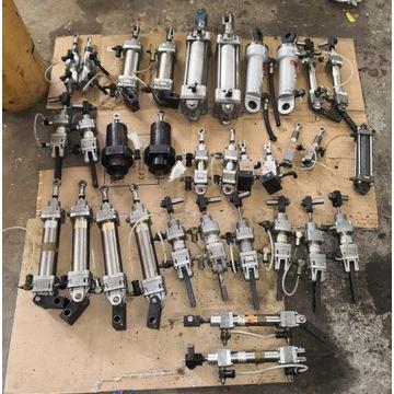 Siłowniki pneumatyczne, hydrauliczne, regulatory