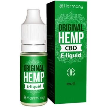 Harmony Original HEMP vape liquid 6% CBD 600mg