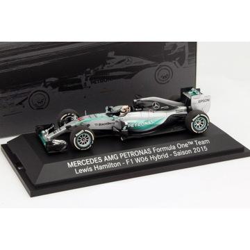 Mercedes W06 Hamilton MŚ ! Minichamps 1/43