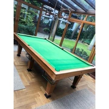 piękny stół bilardowy - 9 stóp