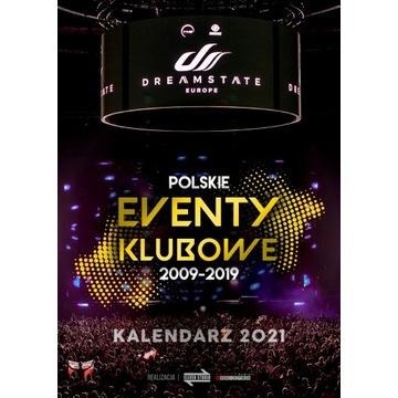 Kalendarz POLSKIE EVENTY KLUBOWE 2009-2019 na 2021