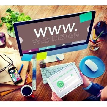 Strona Internetowa + Hosting + Obsługa cały ROK