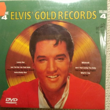 "ELVIS`GOLDEN RECORDS+The Movies 60`s vol.4"" CD+DVD"