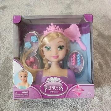 Lalka,Głowa do czesania księżniczka,Princess sweet