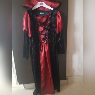 strój wampira 7-9 lat