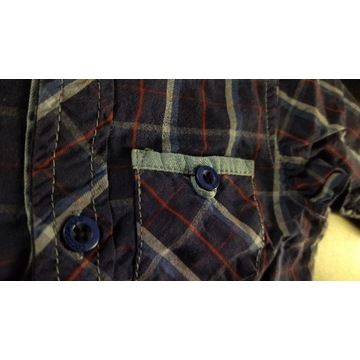 2 koszule rozmiar 74-80 Reserved i Coccodrillo