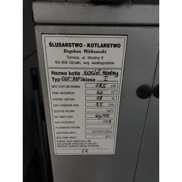 Piec na ekogroszek WITKOWSKI EKW-RAPS 28,5 kW