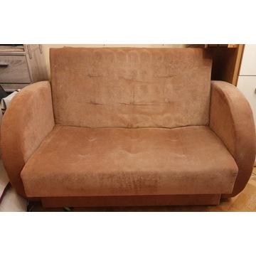 Łóżko Sofa Rozkładana Dobry Stan Czyste Tanio