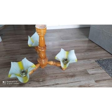 Lampa/y sufitowe drewniane