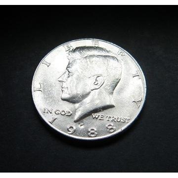 Half dollar Kennedy 1988 P