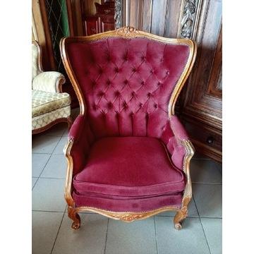 Fotel w stylu ludwikowskim