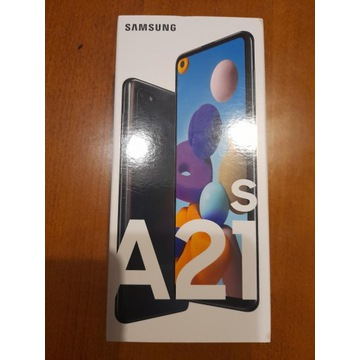 Nowy Galaxy A21s kolor Black