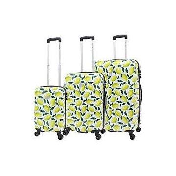 Saxoline Lemon Komplet trzech walizek