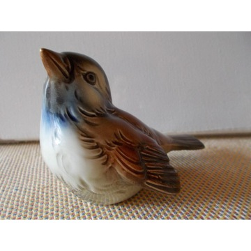 Goebel figurka ptak wróbel ptaszek  porcelana.