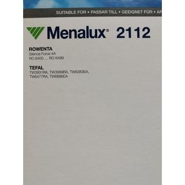 Menalux Worki do odkurzacza Tefal/Rowenta 2112