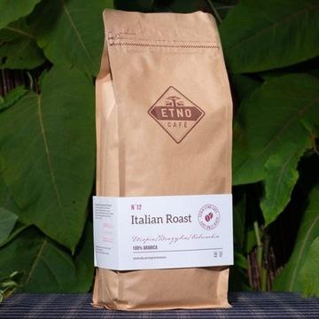 ETNO CAFE Italian Roast Kawa arabica w ziarnach