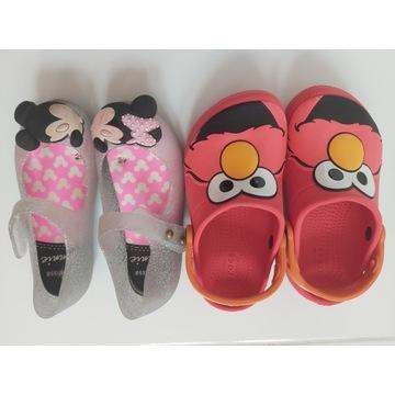 Crocs Elmo c10 29, Melissa Myszka Mickey  29