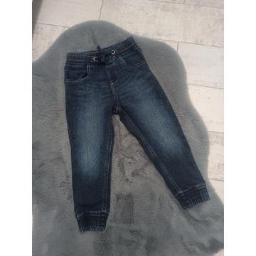 Joggery rozm. 98/104 Lupilu * spodnie jeans dżinsy